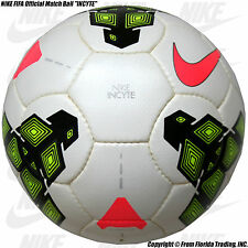 "NIKE FIFA Official Match Soccer Ball ""INCYTE""(5)White/Pink/Black/Volt SC2621-176"