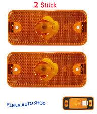 2 X IVECO DAILY luce di posizione anteriore Luce Contorno Posizione Lampada 500308514 NUOVO