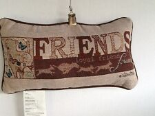 Friends Loyal Friend Forever Word Pillow Throw Pillow