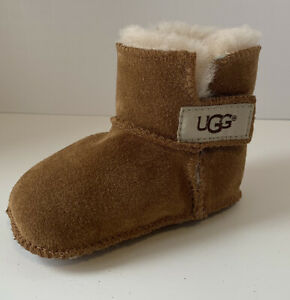 Left foot ONE UGG Erin Bootie Chestnut Toddler Size Small 6-12 Mos Replacement