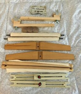 Lot of Misc. Parts for Scroll & Needlework Frames