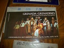Grenada-Grenadines Silver Jubilee H.M.Queen Elizabeth II Commemorative Booklet