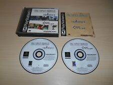 Final Fantasy Chronicles Complete PS1 Playstation 1 CIB Game Black Label