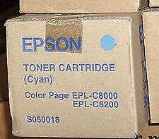 EPSON s050018 TONER CIANO epl-c8000 C8200 Freepost