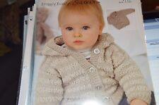 Sirdar Knitting Pattern 1715 Snuggly Bubbly DK  Jacket birth to 6 yrs