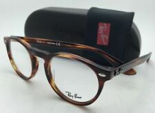 New RAY-BAN Eyeglasses ICONS RB 5283 2144 49-21 145 Striped Tortoise Round Frame