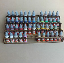 Paint Stand 52 bottle rack storage warpaint /  Vallejo warhammer 40k / wargames