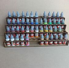 Paint Stand 52 bottle rack storage warpaint /  Vallejo warhammer 40k / wargames