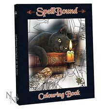 Genuine Lisa Parker Spellbound Colouring Book ~ 40 Designs ~ Cat ~ Wolf ~ Magic
