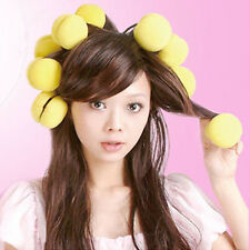 3Pcs Mushroom Curler Makers Foam Bendy Twist Curls Helper Styling Hair Roller