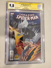Amazing Spider-Man #23 (2017) CGC 9.8 GLCC SIGNED BY KEITH POLLARD AND DAN SLOTT