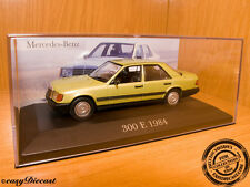 MERCEDES 300E 300-E METALLIC SOFT GREEN 1984 1:43 MINT