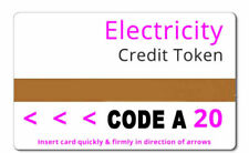 Ampy Electric Meter Card Code A £120 Credit for £30 Save £90 off your Electric