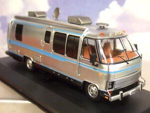 IXO 1/43 1981 AIRSTREAM EXCELLA 280 TURBO CAMPER VAN/RV/MOTORHOME SILVER CAC003