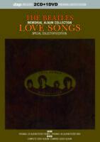 BEATLES / LOVE SONGS: SPECIAL COLLECTOR'S MEMORIAL Press 2CD+1DVD