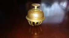Vintage India Tibetian Buddhist Temple Brass Claw Bell