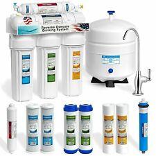 Express Water RO5DX 5 Stage Reverse Osmosis Water Filtration System 4 Pieces