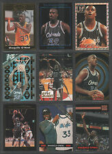 SHAQUILLE O'NEAL ~ Lot of (9) Different Oddball Basketball Trading Cards ~ Rare!