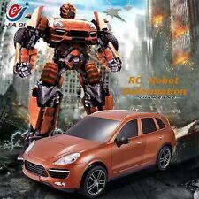 JIAQI TT664 Skids RC IR Remote Control Transformers Robot Car Ages 8+ New Toy