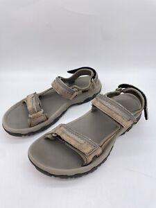 Teva Hudson Casual Grey Sandal 1002433 Mens US Size 9