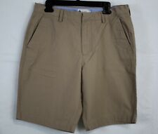 J. CREW Men's Cotton Flat Front Chino Shorts size W 34