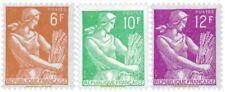 EBS France 1957 Reaper - Moissonneuse YT 1115-1116 MNH**