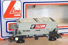 LIMA 305638 BR TILCON 50 TON PGA HOPPER WAGON PR 14099 with LOAD BOXED nj