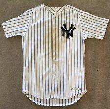 Brett Gardner 2015 Game Used & Worn NY Yankees Jersey - MLB Hologram - Steiner