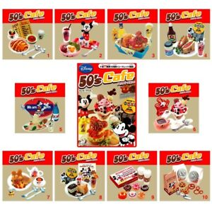 Rare 2008 Re-Ment Disney Mickey Mouse 50's Café (Each Sell Separately)
