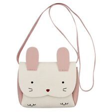 Little Girl Purse Cute Rabbit Shoulder Bag Mini Crossbody Satchel(white) C9P7