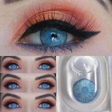 New York Blue Natural  Lenses Beautiful 1 Pair