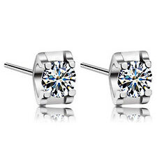 925 Sterling Silver Made With Swarovski Crystals Women's Stud Earring XE93