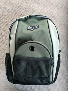 Fox Racing Backpack Biking Bag Rucksack Olive Green And Black Bag