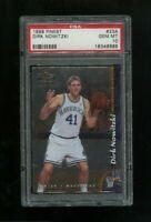 1998-99 Topps Finest Dirk Nowitzki Rookie PSA 10 Gem Mint RC Mavericks #234