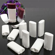 3/5pcs White Empty Lip Balm Tube Portable Deodorant Containers Lipstick Lip Tube