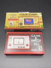 Nintendo Game and Watch Super Mario Bros 35th Anniversary Bonus Original G&W