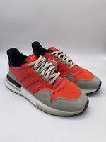 NEW Adidas Originals ZX 500 RM Boost Shoes Solar Sneakers DB2739 NWT Mens 9.5