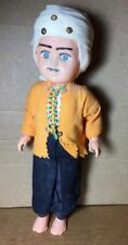 Rare Vintage Plastic Male Doll Wearing Traditional Muslim Outfit