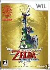 Used Wii Legend  Zelda Skyward SWORD Nintendo JAPAN JP JAPANESE JAPONAIS IMPORT