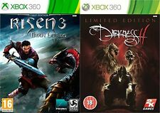 Risen 3: Titan Lords & the darkness 2 limited edition  Xbox 360  PAL NEW&SEALED