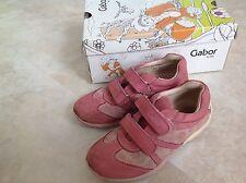 Gabor kids Halbschuhe Straßenschuh Mädchen 31 rosa