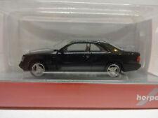 Herpa 028813 Mercedes-Benz E 320 Coupe schwarz 1:87 Neu