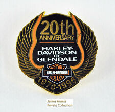 James Arness Gunsmoke Marshal Dillon Harley-Davidson  20th Anniversary Pin