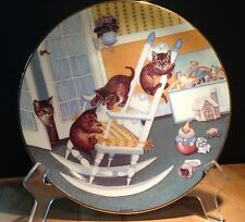 Country Kitties 'Rock & Rollers' by Gre' Gerardi 1988 Hamilton Plate Collection