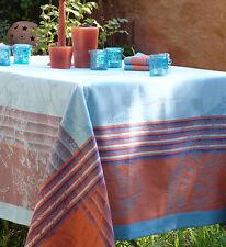 "Provence Jacquard Teflon coated tablecloth 67x98"" (170x250cm) Vent du Sud"