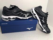 Mizuno Women's Wave Voltage Volleyball Shoes Size US 9.5 Black EXCELLENT w/box