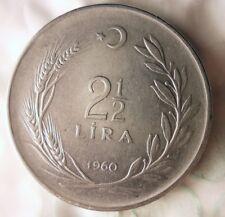 AU BIN #FFF//It Bin E Free Ship 1954 ITALY 5 LIRE Great Early Date Coin