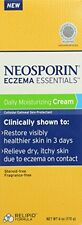 Neosporin Eczema Essentials Daily Moisturizing Cream, 6 Oz Each