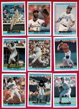 RYNE SANDBERG .  1992 McDonald's Canada Oddball cards.  10 card lot