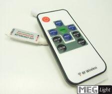 Mini Funk RGB-Controller für LED Streifen inkl. RF-Fernbedienung 12-24V / 3x 4A